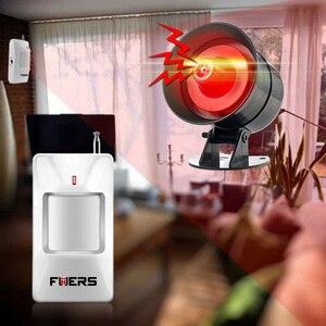 Image 2 - をfuers diyワイヤレス110dbラウドセサイレン迅速なコード警報サウンドフラッシュ警報システム盗難セキュリティ