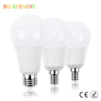 LED Light Bulb 5W Equivalent E27 e26 Base non dimmable smd5730 6000K Warm White 800 Lumens UL CE Listed Pack of 4