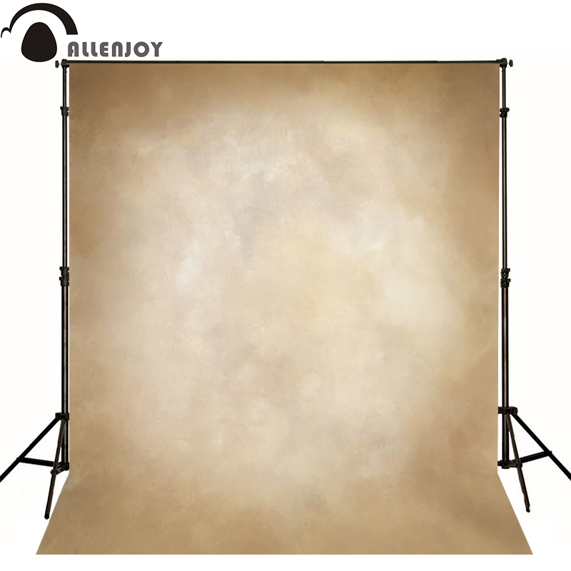 Allenjoy Thin Vinyl cloth photography Backdrop yellow Computer Printing Background for Wedding Photo Studio Pure Color MH-003