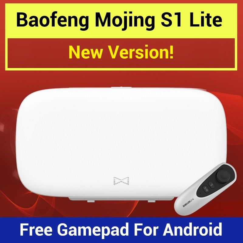 Baofeng Mojing S1 Lite 3D VR メガネ仮想現実メガネ VR ヘッドセット 110 FOV レンズ Bluetooth のゲームのジョイスティックのためのスマートフォン  グループ上の 家電製品 からの 3D眼鏡/3Dバーチャルリアリティ眼鏡 の中 1