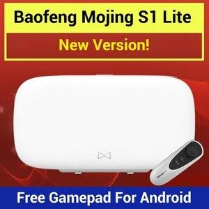 Baofeng Mojing S1 Lite 3D VR okulary Virtual Reality okulary VR zestaw słuchawkowy 110 FOV obiektyw Bluetooth gry Joystick dla Smartphone