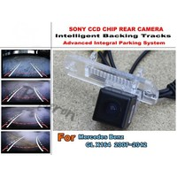 Imports HD CCD Night Vision Intelligent Car Parking Camera With Backing Trajectory Rear Camera For Mercedes