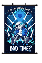 Undertale Japanese Anime Home Decor Wall Scroll Poster 40x60CM Gifts