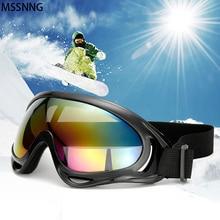 MSSNNG лыжные очки 400 с защитой от ультрафиолета, спортивные очки для сноуборда, противотуманные очки для катания на снегоходах, лыжах, солнцезащитные очки для женщин и мужчин SG03
