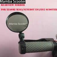 Rétroviseur Scooter pour Xiaomi Mijia M365 Ninebot ES1 ES2 Scooter Qicycle EF1 rétroviseur arrière vélo sangle de Cycle Reflex vue arrière