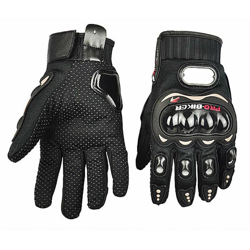 3 цвета мотоциклетные перчатки ATV MTB Байк полный палец перчатки Защитное снаряжение Размер: m/L/XL/XXL Racing перчатки для мотокросса