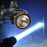 Bright rechargeable lithunmbattery LED l2 Headlamp for Hiking Mining Fishing headlamp 18650