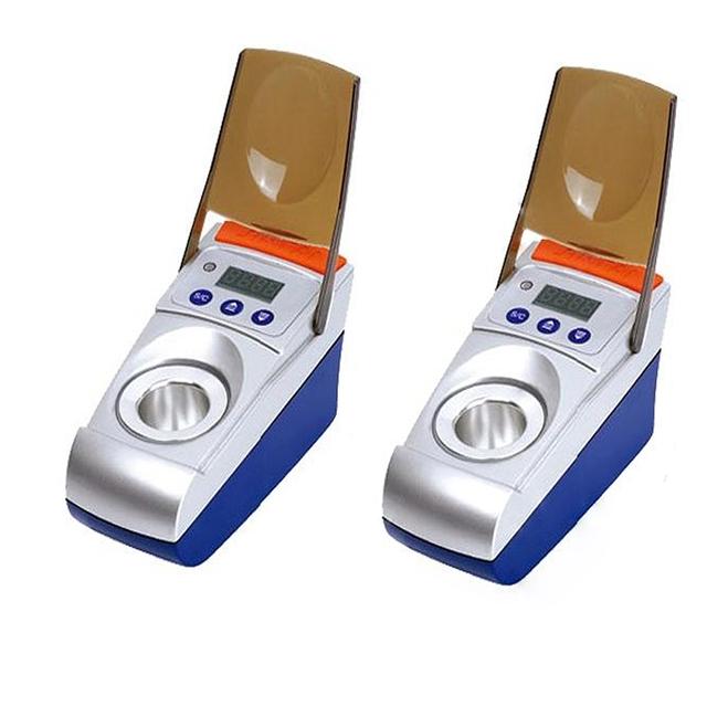 1 pc Dental Lab Technician Slot Único Display LED Elétrica Aquecedor de Cera Pote De Cera de Imersão Digital Unidade