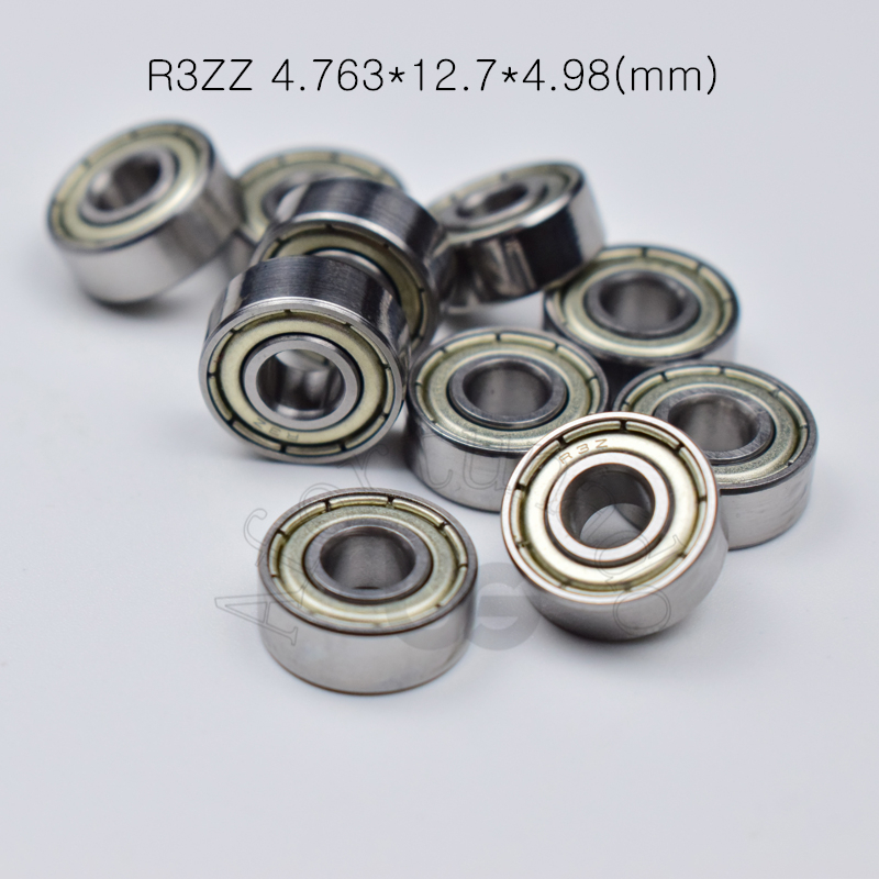 R3ZZ 4.763*12.7*4.98(mm) 10pieces Bearing  Metal Sealed  Free Shipping ABEC-5 Bearings Hardware Transmission Parts