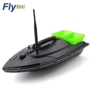 Flytec 2011-5 herramienta de pesca inteligente RC Bait Boat Toy Digital de frecuencia automática modulación Radio Control remoto dispositivo pez juguetes