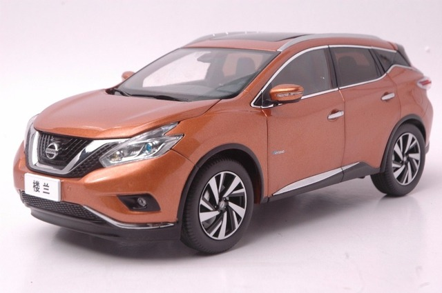 1 18 Diecast Model For Nissan Murano 2015 Gold Suv Alloy Toy Car