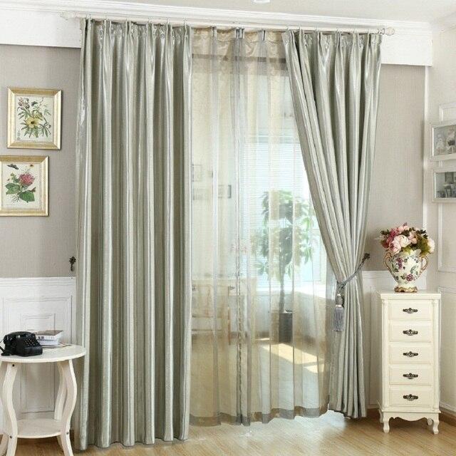verduisteringsgordijn voor woonkamer slaapkamer amerikaanse land stijl bloemen polyester cortinas gordijn decoratie gordijnen