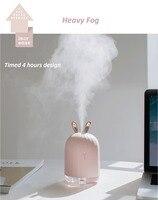 высокое качество 220 мл ультразвуковой увлажнитель воздуха аромат эфирные масла диффузор для дома автомобиля USB для тумана фоггер со светодио дный ночн