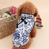 Wholesaleing Stocking China Style Dog Clothes Summer Cheongsam Costume For Bichon Frise Fashion High Quality Pet