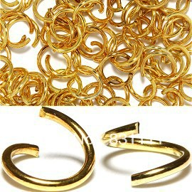 70e89fe9fc2d ᗖMin. order $10 PJW0033 10mm cadena piezas luz oro envío libre - a1000
