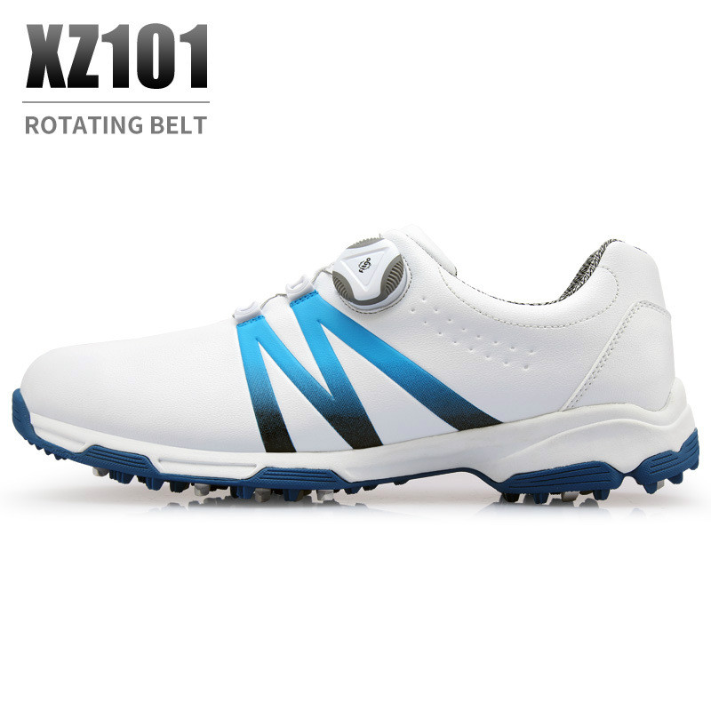 New PGM golf shoes mens waterproof Breathable antiskid shoes shoelaces sports shoes spiked shoes 2018-in Golf Shoe from SportsNew PGM golf shoes mens waterproof Breathable antiskid shoes shoelaces sports shoes spiked shoes 2018-in Golf Shoe from Sports