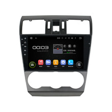 9″ Quad Core 1024*600 Android 5.1.1 Fit Suzuki Forester WRX 2014 2015 2016 Car DVD Player Navigation GPS Radio
