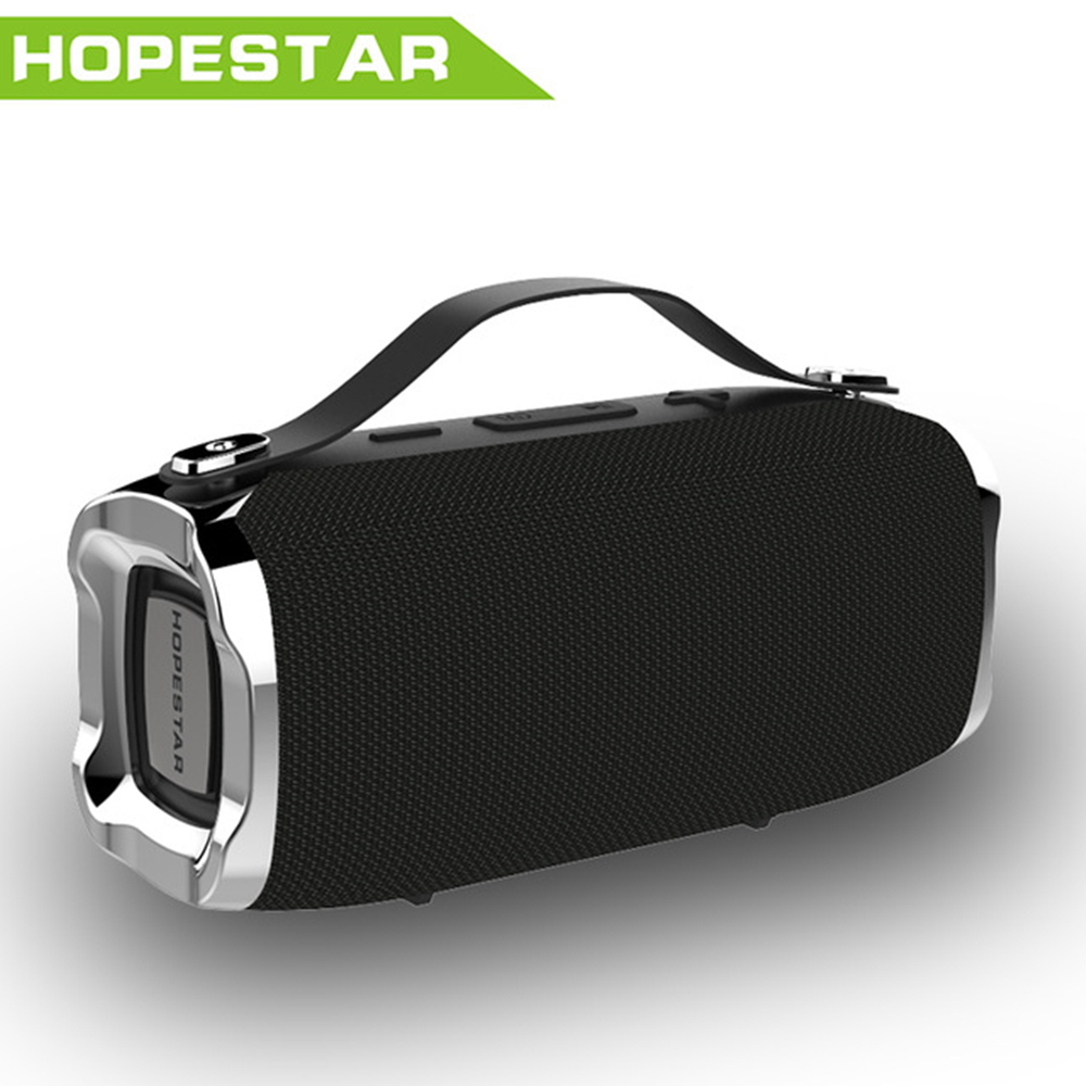 HOPESTAR Mini Bluetooth Speaker Portable Waterproof Wireless Speaker Sound System 3D stereo Outdoor Speaker soundbar TF FM AUX outdoor portable bluetooth speaker wireless waterproof bass loud speaker 3d hifi stereo subwoofer support tf card fm radio