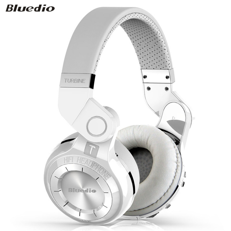 ФОТО 100% Original Bluedio T2 4.1 Stereo Foldable Style Bluetooth V4.1 +EDR Noise canceling Wireless Headset for Smartphone Tablet PC