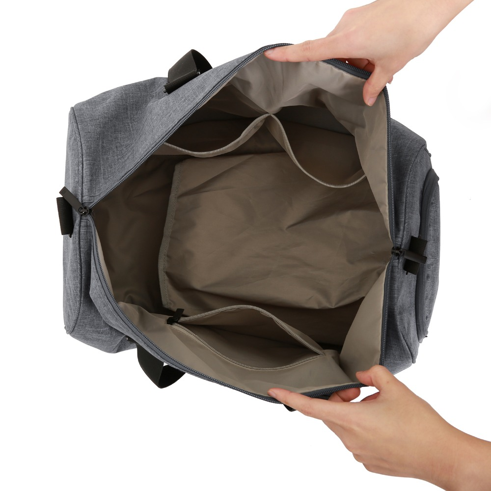 BAGSMART Män Resväska Stor Kapacitet Bär på Bagage Bag Nylon - Väskor för bagage och resor - Foto 3