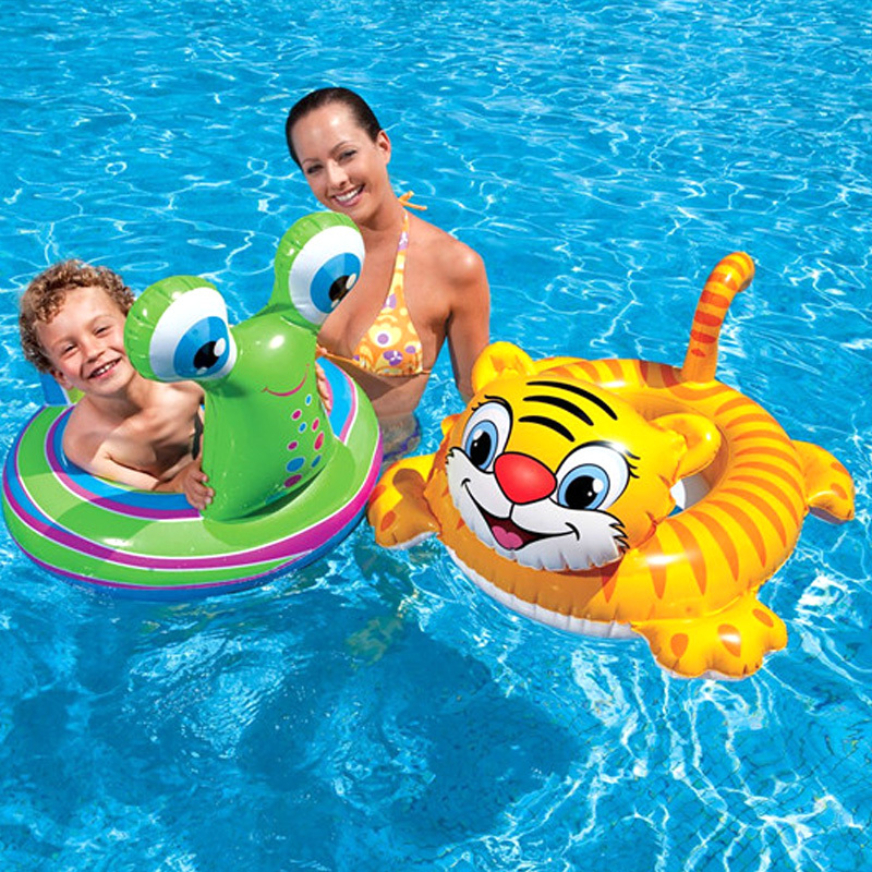Summer Inflatable Toddler Baby Swimming Ring Swim Ring Infant Swimming Pool Water Float Seat