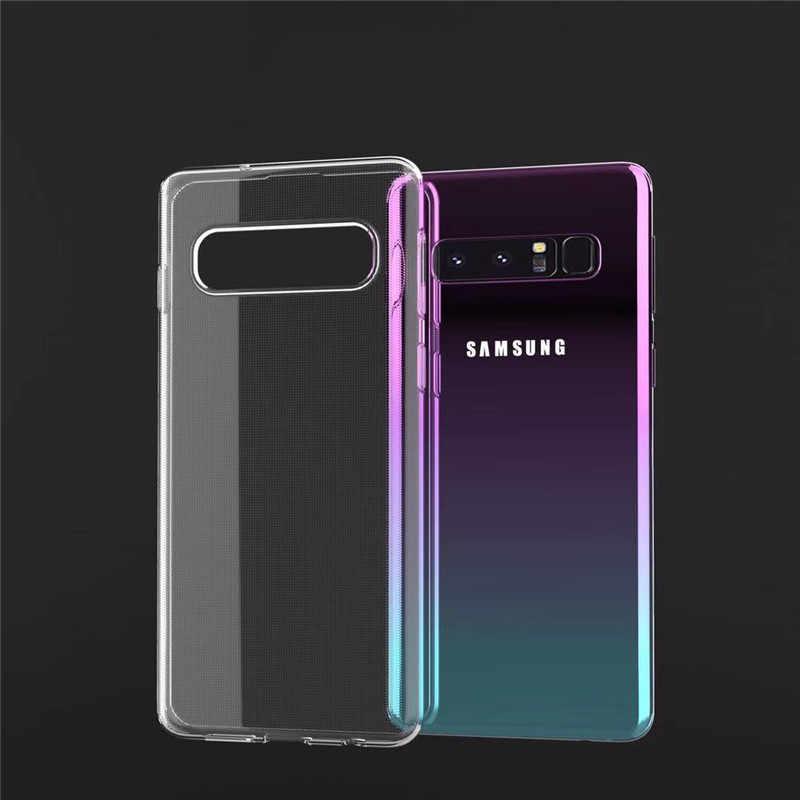 Funda de lujo 360 funda completa para Samsung Galaxy S10e S10 S9 S8 Plus S7 Edge A6 A7 J4 J6 J8 A8 Plus 2018 Note 9 cubierta suave TPU Capa