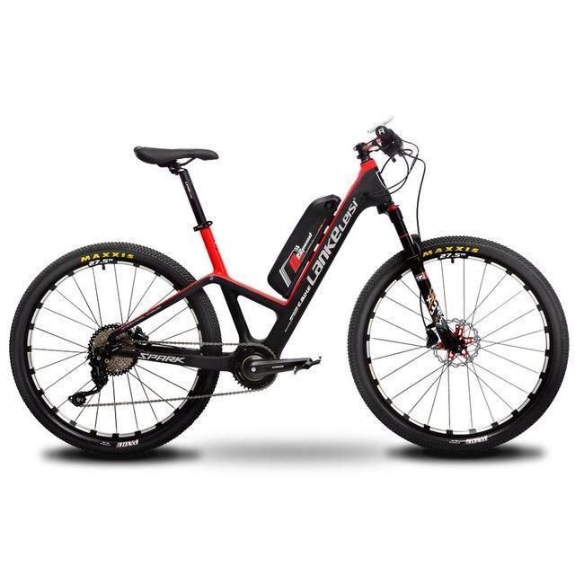 Cyrusher TCC карбоновый Рамный горный велосипед 350 Вт 17X27,5 дюйма 48 В 11ah 10 скоростной двойной гидравлический дисковый тормоз E-bike