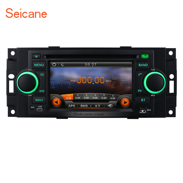 seicane in dash radio gps navigation dvd player for 2002 2008 rh aliexpress com 2007 Chrysler Aspen Limited 2007 Chrysler Aspen Grille