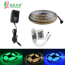 5M LED Strip Lights, WiFi Wireless Smart Phone Remote Rope Lighting Kit,DC12V 300LEDs 5050 RGB Dimmable Color Changing Lighting