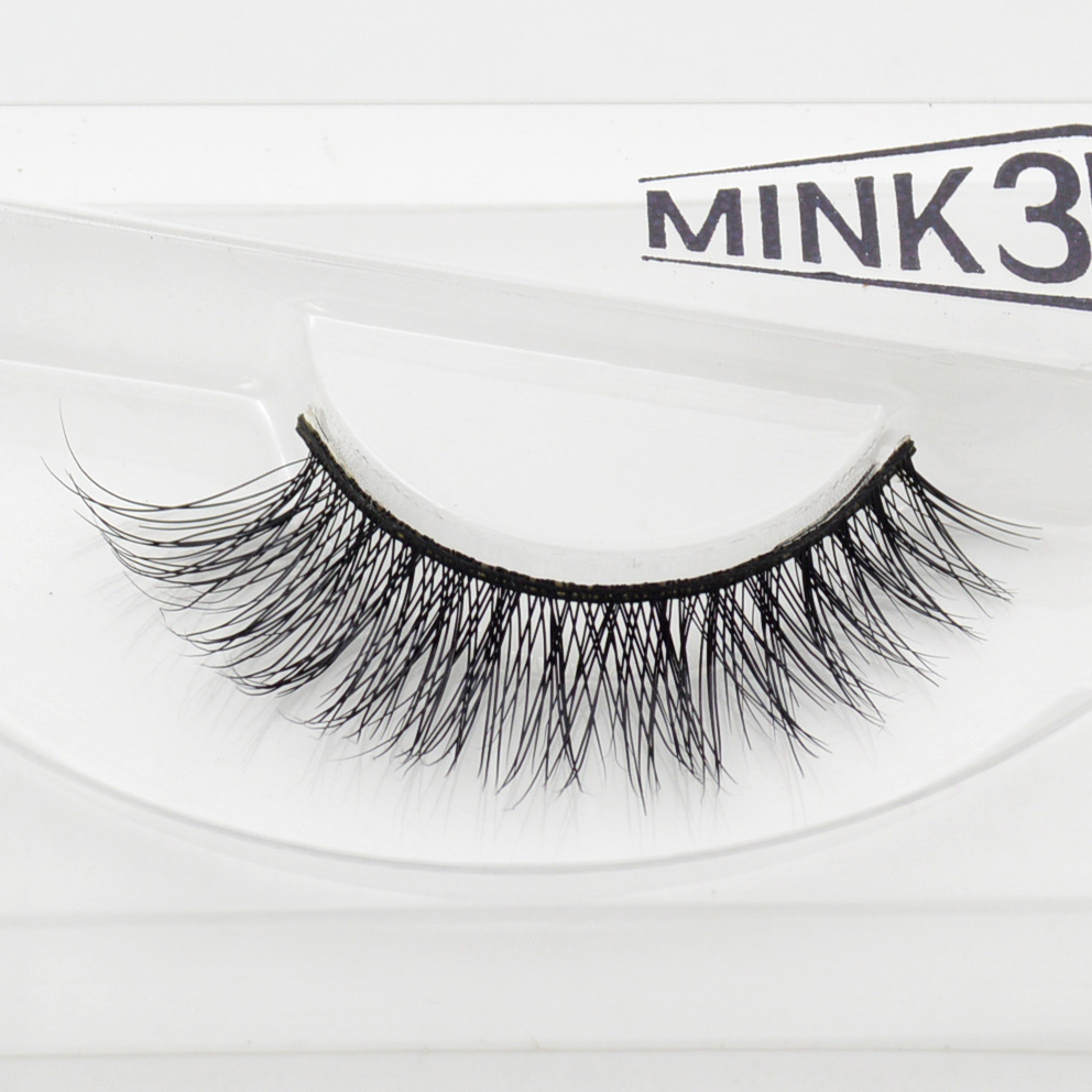 Visofree Mink Lashes 3D Lashes Long Lasting Lashes Natural & Lightweight Mink Eyelashes 1 Pair SS201