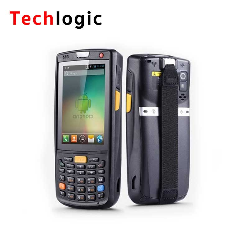 Techlogic Wifi Bluetooth Barcode Scanner 5.1 Android 4G GPS Bar Code Scanner Handheld Terminal Barcode Reader PDA Bar Code Gun techlogic x3 wireless barcode scanner inventory bar code scanner handheld terminal pda laser barcode reader bar code gun