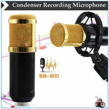 BM-800 4 type Color Fashionable Style Microphone Condenser Studio Sound Record Microphone Condenser Micro phone Shock Mount