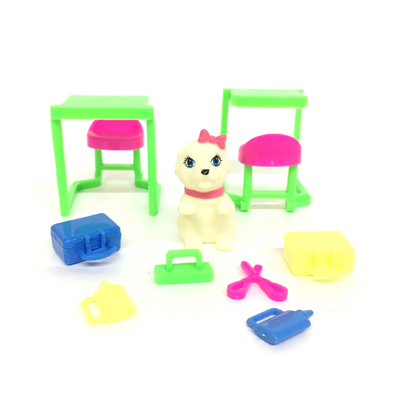 9pcs/set Medical Kit Toy For Doll Baby Accessories Medical Equipment Pets Puppet Dog To Enjoy High Reputation In The International Market