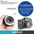 Neewer 50mm f/2.0 Enfoque Manual Primer Lente Fija para APS-C Cámaras Digitales FUJIFILM X-A1 Ss/A2/X-E1/E2/E2/X-M1/X-T1/T10/X-Pro1/2