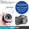 Neewer 50mm f/2.0 Manual Focus Prime Fixed Lens for FUJIFILM APS-C Digital Cameras Ss X-A1/A2/X-E1/E2/E2s/X-M1/X-T1/T10/X-Pro1/2