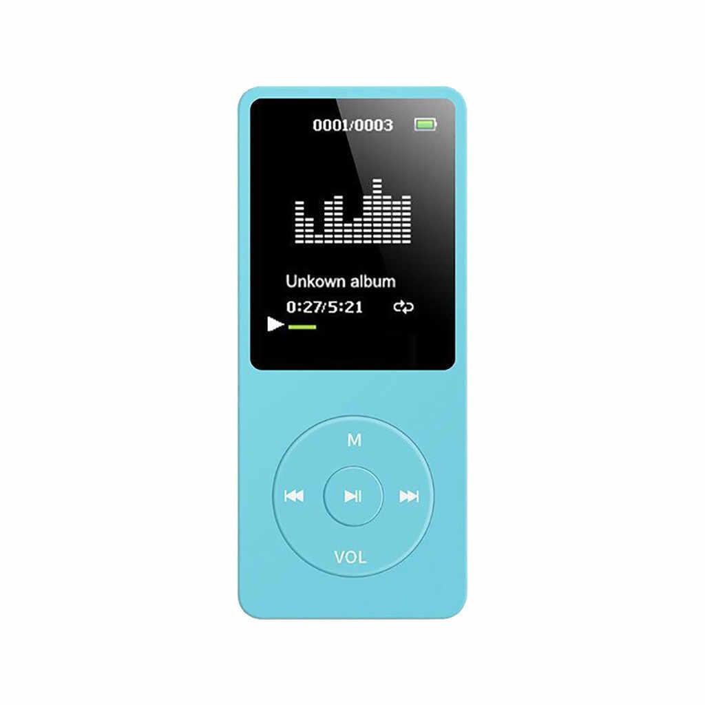 35 @ 2019 Fashion Portable Mp4 bezstratnej dźwięku odtwarzacz muzyczny rejestrator Fm odtwarzacz Walkman Mini odtwarzanie muzyki, Radio, nagrywanie
