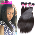 8A Grade Unprocessed Brazilian Yaki Straight Human Hair One Bundle Mocha Hair Brazilian Kinky Straight Virgin Hair Bundle Deals