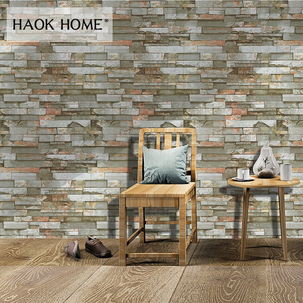Realistic Wood Grain From The Waterproof Wall Paper Adhesive Wall Stick Bedroom Wallpaper Wardrobe Furniture Renovation Stickers-83z Home Improvement