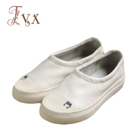 Tayunxing Handmade Genuine Leather Slip On Women Flats Casual Comfort Shoe 3156