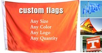 90x180cm Single Sided custom flag printing Colorful Flag Banner