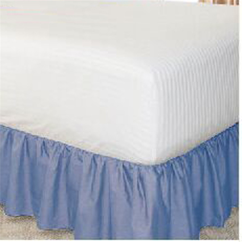 Hohe Qualität Elastischen Bett Rock Staub Rüschen Einfach Fit ...
