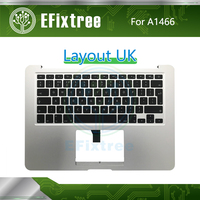 Tested A1466 Topcase Housing English Keyboard UK With Backlit 2013 2014 2015 2017 Year For Macbook Air UK English EMC 2632 2925