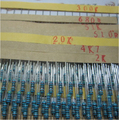 1 conjunto = 600 pcs 30 Tipo 1/4 W Resistência 1% Metal Film Resistor Assorted Kit Cada 20