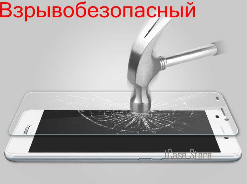 Cao cấp Tempered Glass Đối Với Huawei Honor 8 6 cộng với 5x 3X Honor 4C Honor 4X Phim Màn Hình Bảo Vệ trường hợp