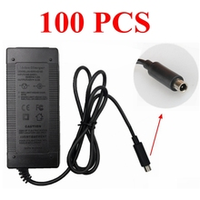 100 pieces Scooter Charger 42V 2A Adapter Power Supply for Xiaomi Mijia M365 Electric Scooter Accessories Charger Free shipping