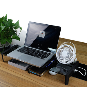 Image 5 - Desktop Monitor Notebook Laptop Stand Space Bar Non slip Desk Riser with 4ports USB Hub Data Transmission and Fast Charger 501L