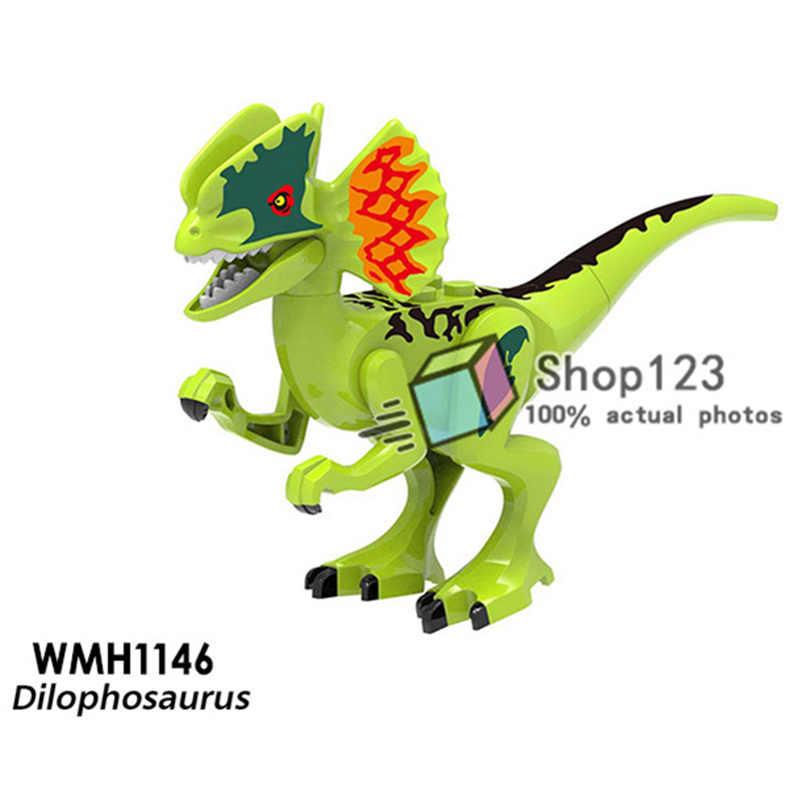 Singolo Jurassic Park T-Rex Tirannosauri Dinosauro Dinosauri Amici Building Blocks Giocattoli Dei Mattoni Per I Bambini
