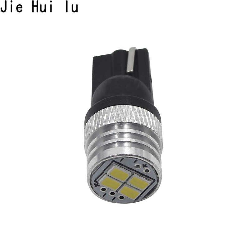 2 uds. w5w T10 led bombillas LED Canbus 4SMD 3014 luces de posición de aparcamiento Interior mapa Domo luces 12V blanco para VW Passat b5 b6