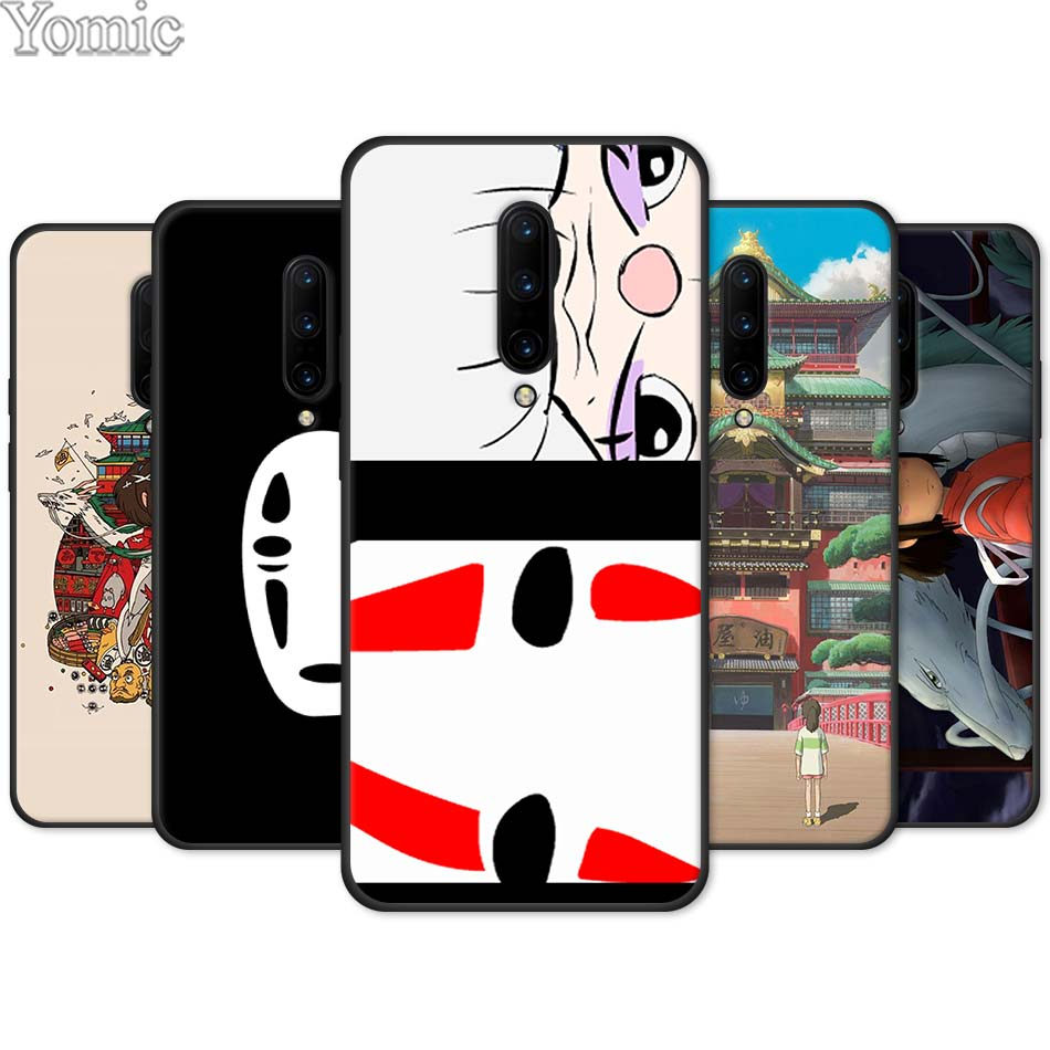 Spirited Away No Face man Silicone Phone Case for font b Oneplus b font font b