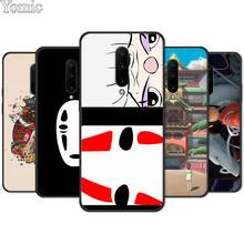 Spirited Away No Face man Silicone Phone Case for Oneplus 7 7 Pro 6 6T 5T Soft Cover Shell for Oneplus 7 7Pro Black Case